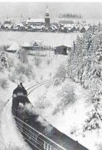 Im Sonderzug zum Nostalgie-Skirennen