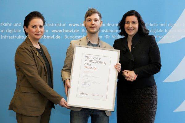 Mobilitätspreis für Zukunftsvision aus Höxter
