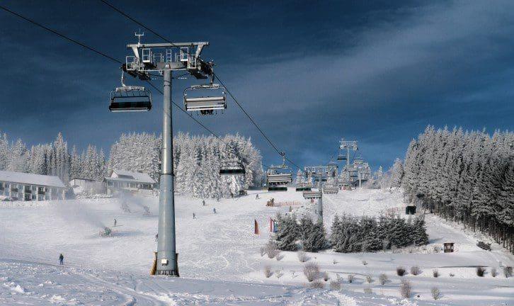 Wintersport-Arena: Alles läuft auf Hochtouren