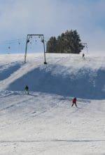 Tolles Skigebiet in der FORT FUN Winterwelt