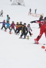 Gute Schneeverhältnise in der Wintersport-Arena