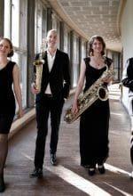 Saxophonquartett glänzt mit wagemutigen Stücken