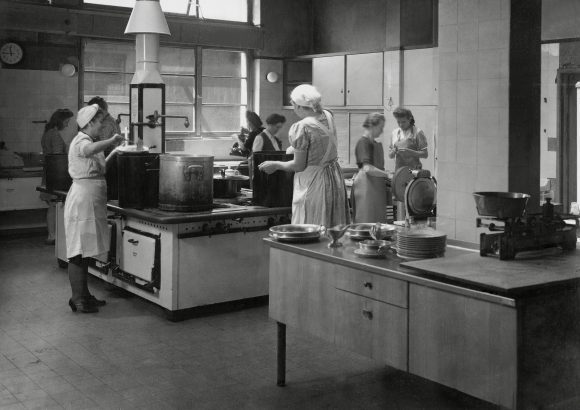 Essen außer Haus Hoesch-Küche 1960
