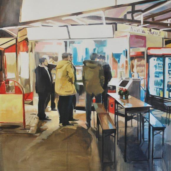 Arbeiten von Laura Nieto in der Galerie am Dom in Billerbeck