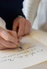 Uni Siegen: Mit Tinte und Federkiel