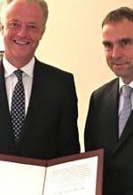 Thomas Rusche erhält Wilhelm-Weber-Preis