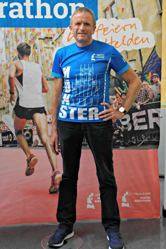 das neue Promo-Shirt zum Volksbank-Münster-Marathon