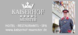 Kaiserhof Münster - Das besondere 4-Sterne-Superior-Hotel