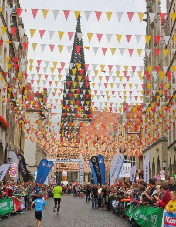 Der Volksbank-Münster-Marathon führt in diesem Jahr nicht nur zu den Sehenswürdigkeiten der Domstadt, sondern auch zu einigen Skulptur Projekten