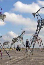 Drum-Roboter an der Luisenhütte