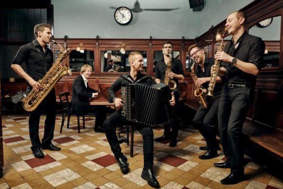 """Auch das Ensemble 87 ist bei der Konzertreihe """"Küchenterz"""" dabei"""