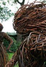 Mertenshof: Skulptur in der Natur