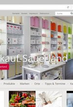 Neue Website: Werksverkauf Sauerland