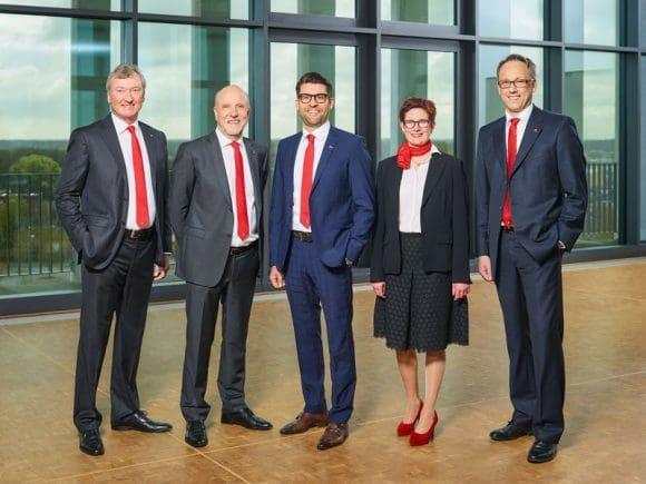 Vorstand der Westfalen AG