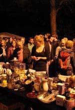 Münster: Schnäppchenjagd im Mondschein