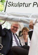 Bundespräsident besucht Skulptur Projekte