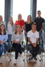 Westfalen Gruppe mit neuen Azubis