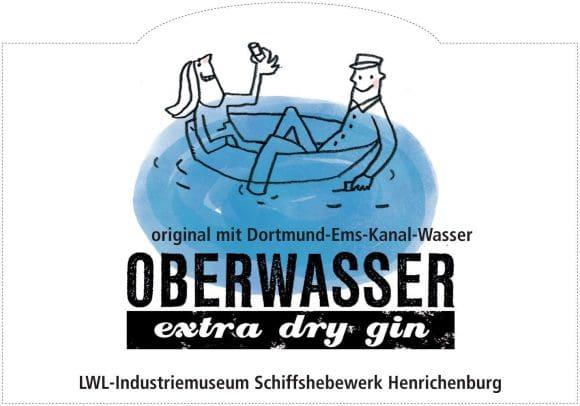 Gin für das Schiffshebewerk Henrichenburg