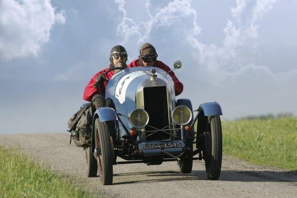 Ein AZ-Sportwagen Baujahr 1924 ist das älteste Auto im Teilnehmerfeld der ADAC Westfalen Klassik