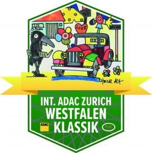 Das Logo der Oldtimer-Rallye ADAC Zurich Westfalen Klassik hat Otmar Alt mitgestaltet