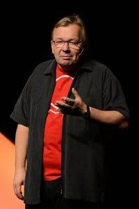 Bernd Stelter bringt die Menschen zum Lachen