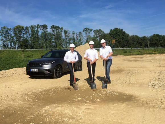 Auto Stopka baut neuen Standort für Jaguar und Land Rover in Münster