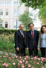 Japanischer Generalkonsul lobt Gartenschau
