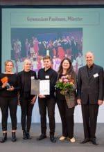 Gymnasium aus Münster bekommt Zukunftspreis