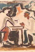 Clemens Wieschebrink in der Galerie van Almsick