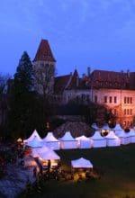 Havixbeck: Winterträume auf Burg Hülshoff