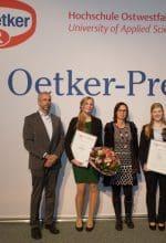 Dr. Oetker Preis für zukunftsweisende Arbeiten