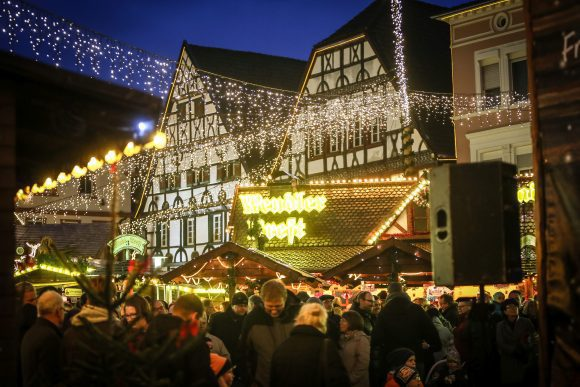 Festlicher Advent in Westfalen: Weihnachtsmarkt in Unna