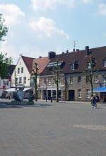 Borken: Winterspaß auf dem Marktplatz