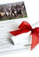 Westfalium schenken – Gutschein sofort ausdrucken