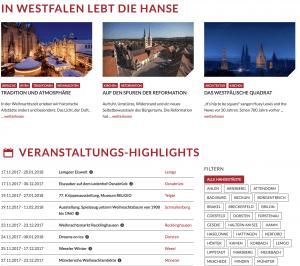 Die Westfälische Hanse neu präsentiert