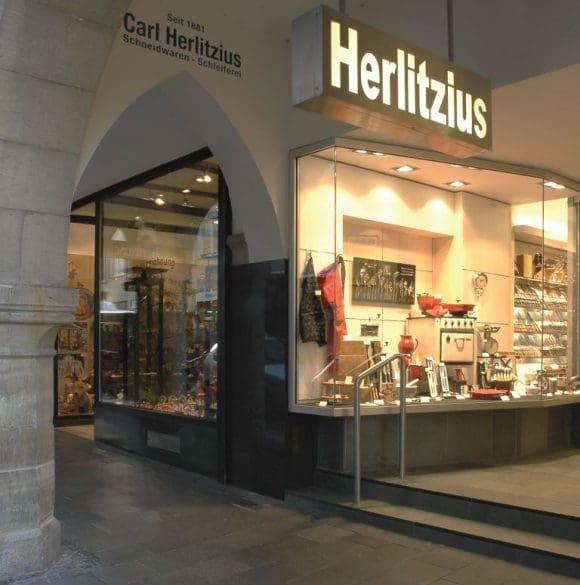 Tischkultur aus Silber und Stahl bei Herlitzius in Münster