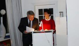 Gudrun Beckmann-Kircher und Peter Salmann lesen Goethe