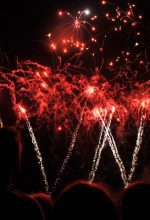 Dortmund: Feuerwerk im Westfalenpark