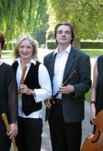 Reihe mit Musik von Telemann und Händel