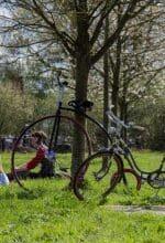 Radeln beim Gütersloher Tweed Run