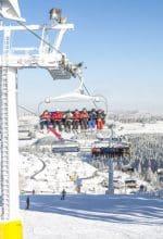 Wintersport-Arena freut sich über viel Schnee