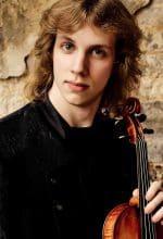 Violinist Albrecht Menzel im Alten Pfarrhaus