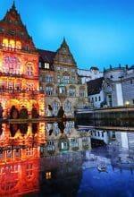 Faszinierende Licht(r)äume in der Altstadt
