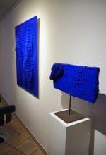 """Arbeiten von Prof. Werner Ruhnau in """"Klein International Blue"""""""