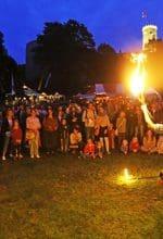 Mittelalter-Spektakel in Bielefeld