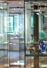 Glas aus Murano im Museum Glashütte Gernheim