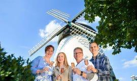 Windmühle Fissenknick bei Gourmets beliebt
