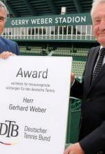 Gerhard Weber für sein Lebenswerk geehrt
