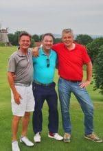 Auf 3 Golfplätzen 3 Turniere an einem Tag