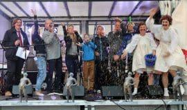 Münster: Große Brunnen-Lotterie eröffnet